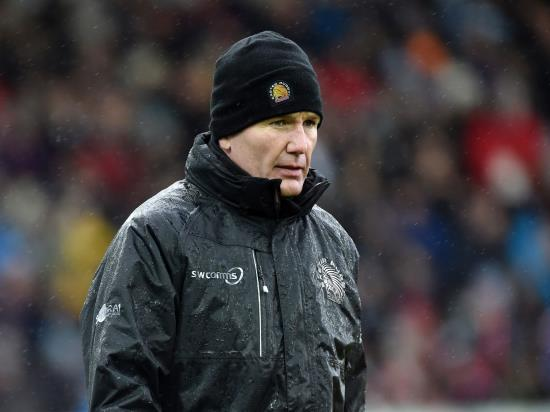 Exeter boss Baxter says Chiefs were 'all over the place' in Champions Cup defeat