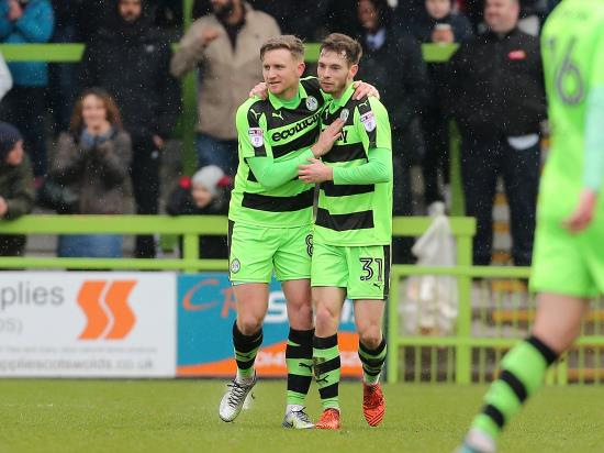 Forest Green Rovers vs Stevenage - Rovers in rude health before Stevenage visit New Lawn