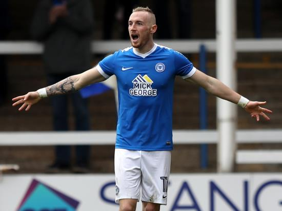 Marcus Maddison a doubt for Peterborough clash with Rochdale
