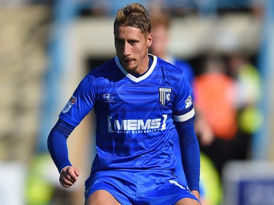 Lee Martin still suspended for Gillingham's home clash with Rotherham