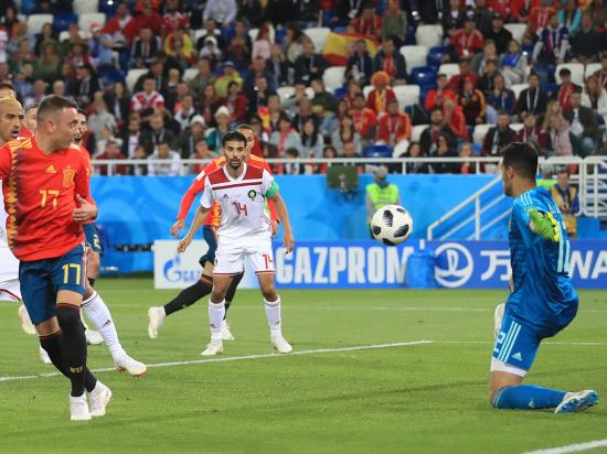 Spain snatch late draw against Morocco to set up last-16 clash with Russia