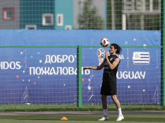 Uruguay vs France - Uruguay still sweating on the fitness of striker Edinson Cavani