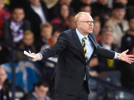 McLeish admits Belgium defeat is a 'harsh lesson' for Scotland