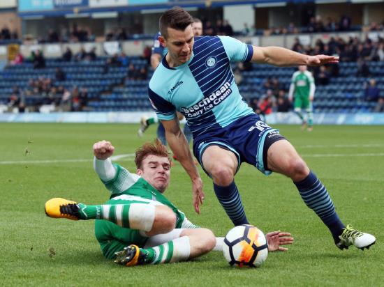 Matt Bloomfield returns for Wycombe