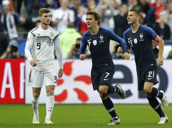 France 2 - 1 Germany: Antoine Griezmann leads France fightback as Germany continue to struggle