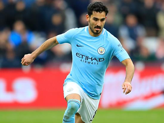 Manchester City likely to be without injured Ilkay Gundogan against Fulham