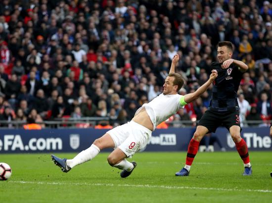 England 2 - 1 Croatia: Kane comes up with a winner to seal Nations League Finals place