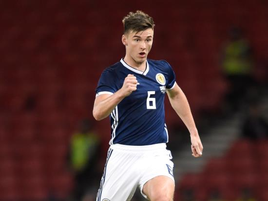 Kazakhstan vs Scotland - Tierney joins fellow Scotland left-back Robertson on the sidelines