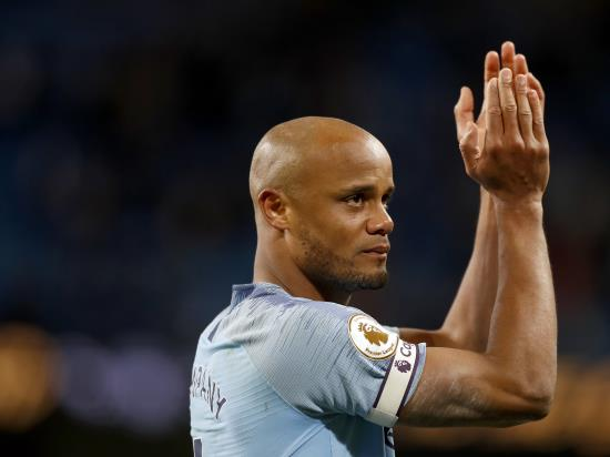 Guardiola sheds no light on emotional Kompany's future at Manchester City