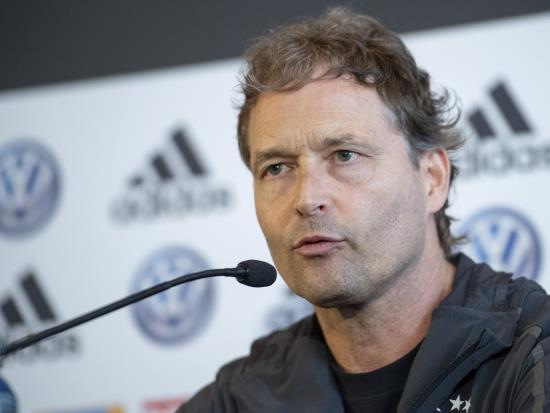 Sorg to keep faith with Germany's 'rebuilding phase' ahead of Estonia clash