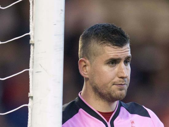 Alloa keeper Parry may require plastic surgery after collision, says boss Grant