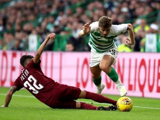 James Forrest secures draw for Celtic in Romania