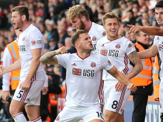 Sheffield United substitute Billy Sharp blunts Bournemouth