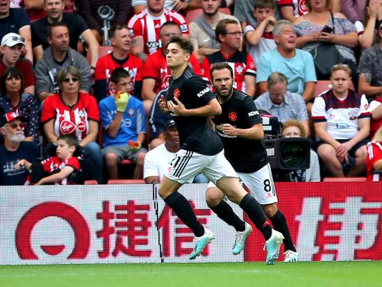 James strikes again but United pegged back by Saints