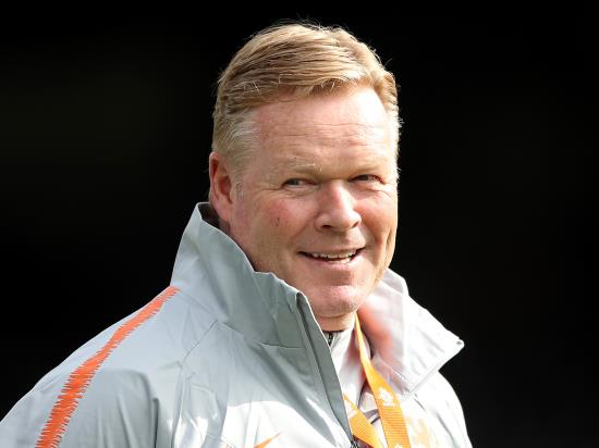 Koeman praises players after Dutch have 'great evening' in Germany