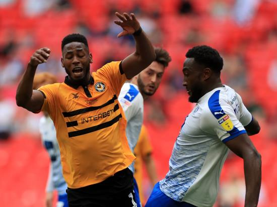 Matt finish sees off Port Vale and maintains Newport's unbeaten run