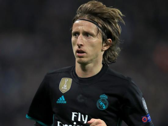Real Madrid vs Levante - Zidane says Real Madrid cannot dwell on Modric injury
