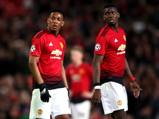 Manchester United vs Leicester City - Paul Pogba and Anthony Martial missing for United