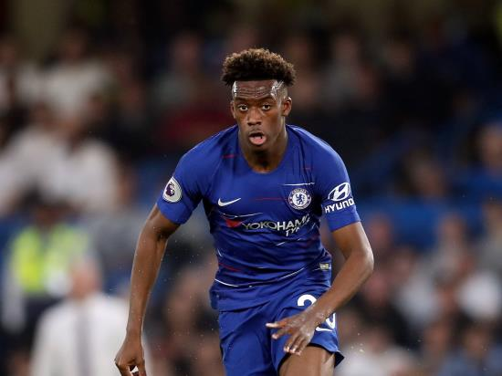 Hudson-Odoi in contention to make Chelsea return against Grimsby