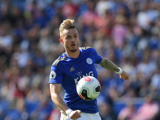 James Maddison a major injury concern as Leicester host Newcastle