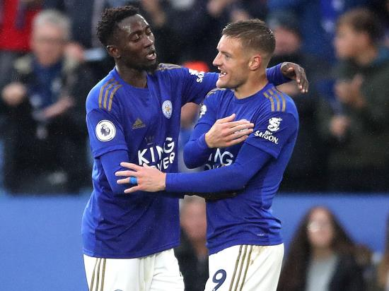 Vardy at the double as five-star Leicester thrash Newcastle