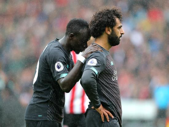 Liverpool vs Red Bull Salzburg - Mane plays down spat with 'good friend' Salah
