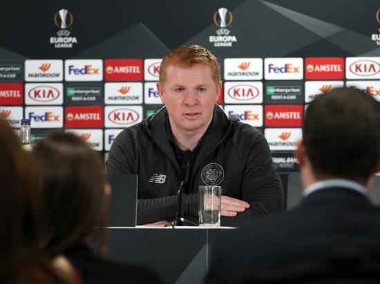 Celtic vs Lazio - Lennon hopes Lazio clash brings out the positives of football