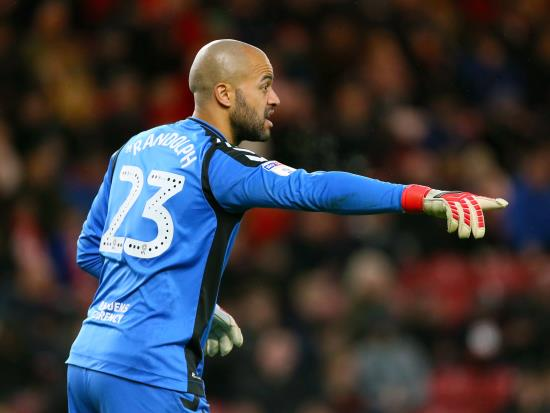 Boro keeper Darren Randolph set for month out
