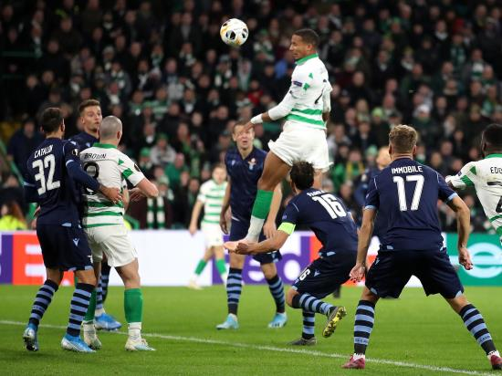 Jullien heads last-gasp winner as Celtic hit back to beat Lazio