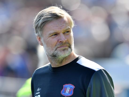 Carlisle boss Pressley sweating on Nathan Thomas' fitness for Orient trip