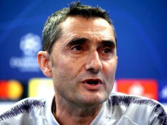 Barca vs Slavia Praha - Valverde keen for Barca to move on from criticism after Levante defeat