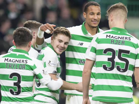 Olivier Ntcham's last-gasp goal fires Celtic into Europa League knockout stages