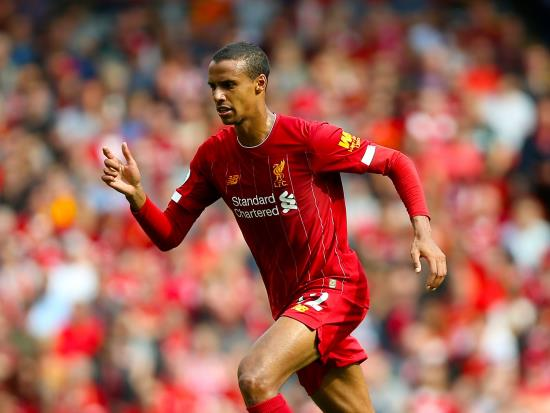 Liverpool vs Manchester City - Liverpool defender Joel Matip out of Manchester City clash