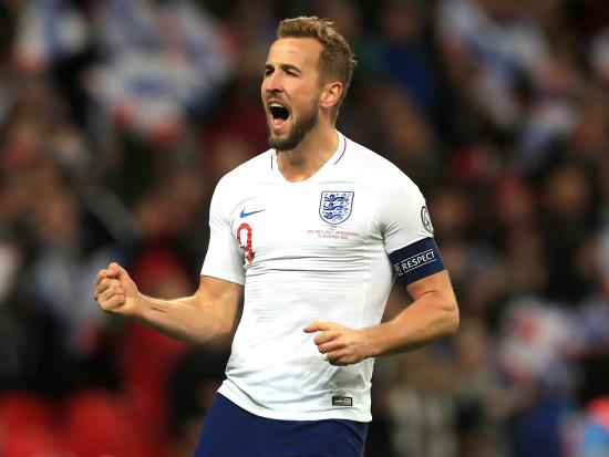 Harry Kane hits hat-trick as England humble Montenegro to reach Euro 2020