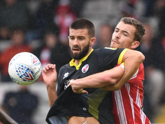 George Francomb suspended as Crawley host basement boys Morecambe