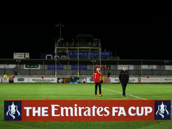 Eastleigh without a host of players for FA Cup replay against Stourbridge