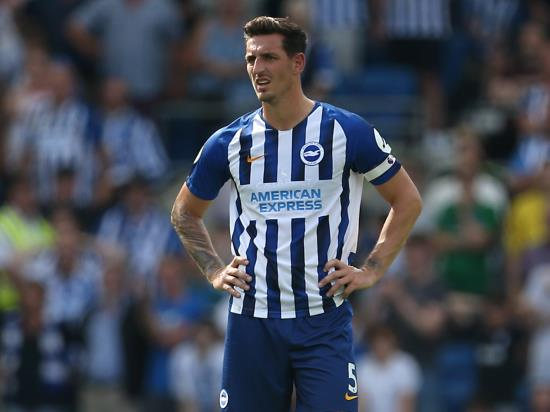 Brighton & Hove Albion vs Leicester City - Lewis Dunk suspended for Leicester clash