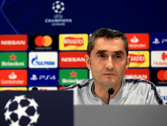 Ernesto Valverde calls on Barcelona to rise above expectation