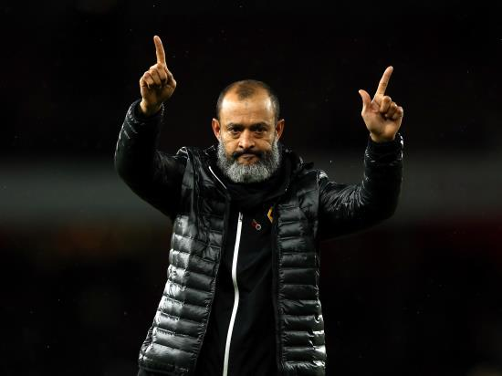 Sporting Braga vs Wolves - Nuno refuses to discuss 'disrespectful' Arsenal link