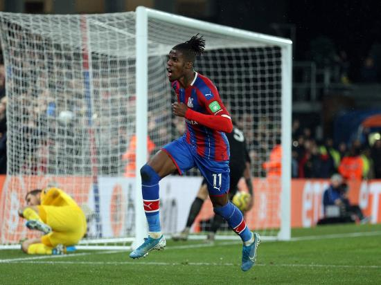Wilfried Zaha earns Crystal Palace appoint against rivals Brighton