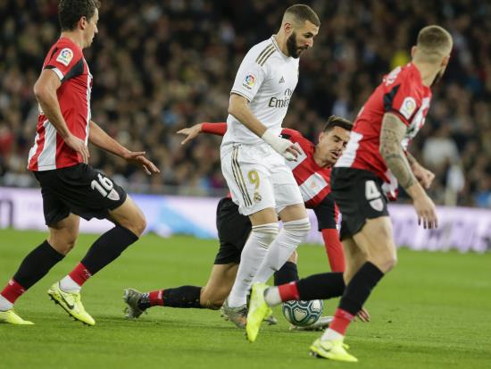 Real Madrid held at home by Athletic Bilbao to leave Barcelona clear at summit