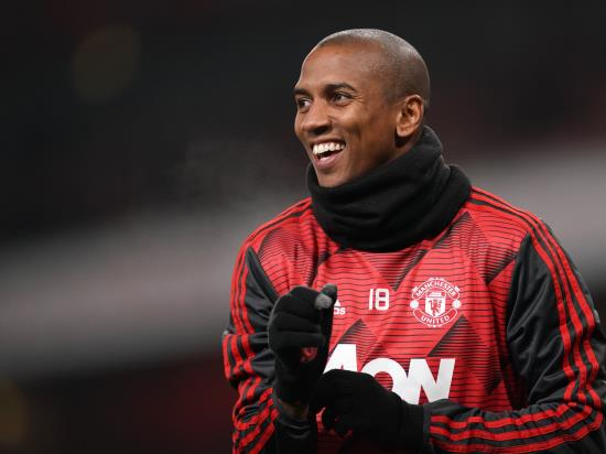 Manchester United missing Ashley Young for Wolves clash