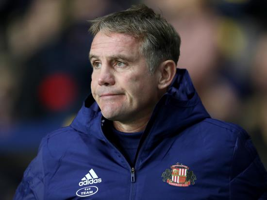 Sunderland boss Phil Parkinson satisfied with a point against Doncaster