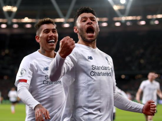 Liverpool move 19 points clear at top of Premier League after West Ham defeat