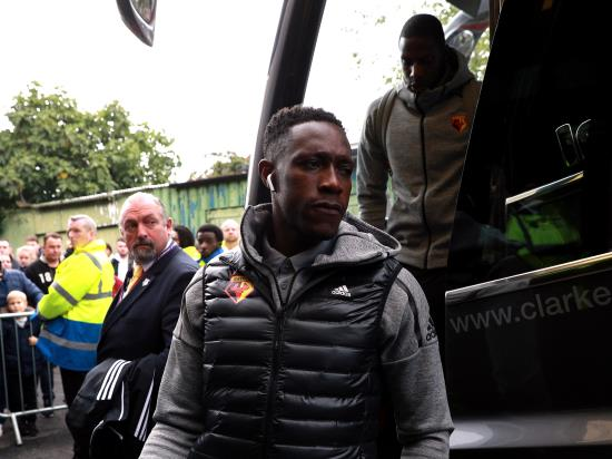 Welbeck back for Watford against Everton