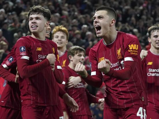 Ro-Shaun Williams' own goal sees Liverpool youngsters edge Shrewsbury cup replay