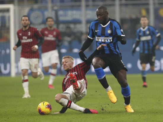 Lukaku on target as Inter win Milan derby to become Serie A leaders