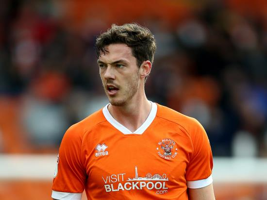 Ben Heneghan to miss Blackpool's game against Ipswich
