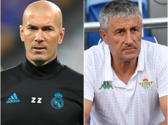Real Madrid vs Barcelona - Zidane looking on the bright side ahead of El Clasico
