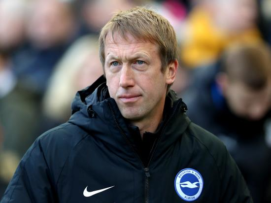 'I thought we were the better team' – Brighton boss Potter bemoans derby defeat